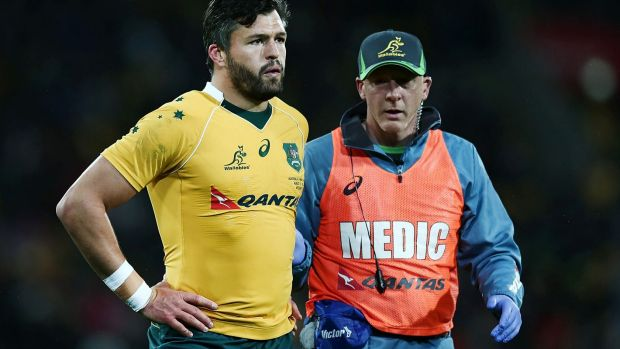 Adam Ashley-Cooper Mike Cadogan Wallabies